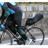 Сумка по седло велосипеда Roswheel, водонепроницаемая, черная