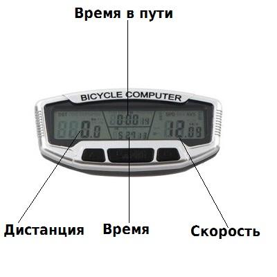 спидометр для велосипеда проводной