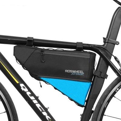 Сумка под раму велосипеда Roswheel черная
