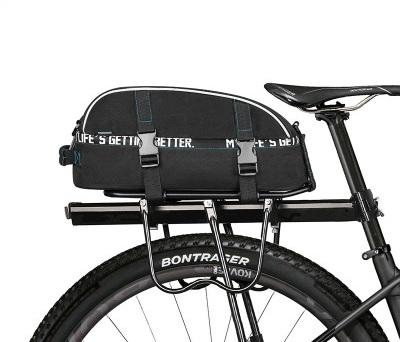 сумка на багажник велосипеда Roswheel, 8 литров, черная