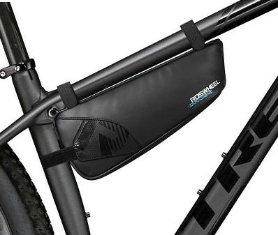 Сумка под раму велосипеда Roswheel Cross, черная.