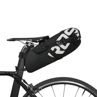 Сумка по седло велосипеда Roswheel 10L, водонепроницаемая, черная