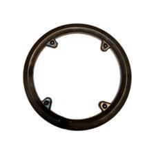 Фото защита передней звезды велосипеда Prowheel 42T, 4 отверстия, чёрная
