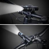 фонарь велосипед черный