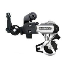 Фото Переключатель задний для велосипеда Shimano Tourney RD-TF56 (крюк) 6-7 скоростей