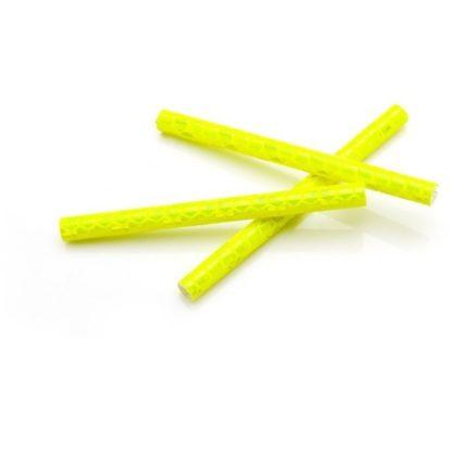 Фото светоотражатели на спицы велосипеда Vinca Sport, желтые, 12 шт.