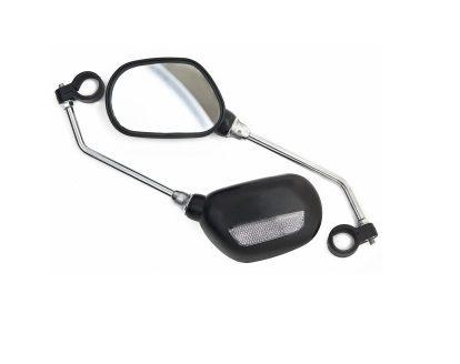 Фото Комплект зеркал для велосипеда Vinca Sport 110x70мм