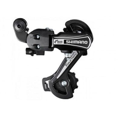 Переключатель задний для велосипеда Shimano Tourney, TY21-B, (болт) 6-скоростей