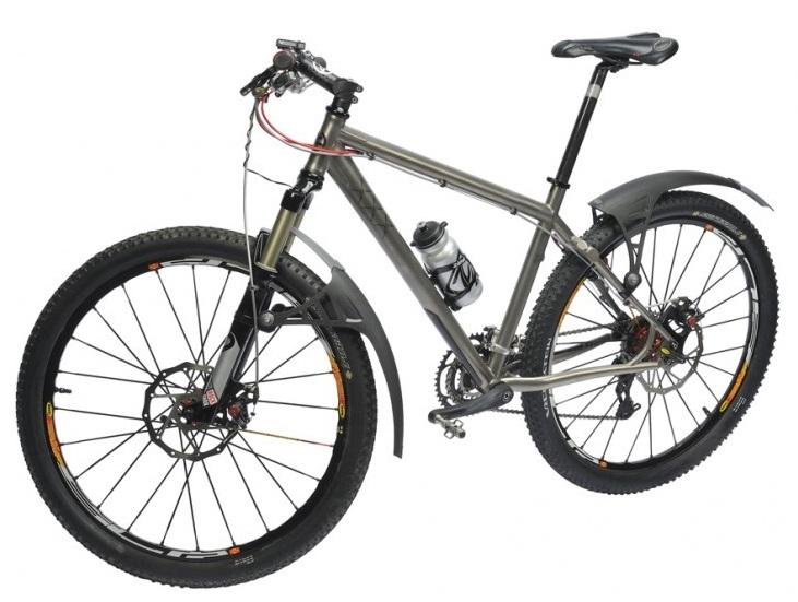 Щиток универсальный для велосипеда Zefal No Mud передний/задний