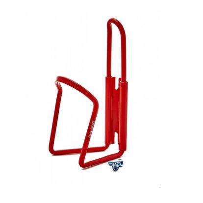 держатель для фляги на велосипед красный