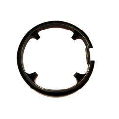 Фото защита передней системы велосипеда MYG-01, 4 отверстия, черная