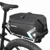 Фото велосумка на багажник 6L Roswheel, черная