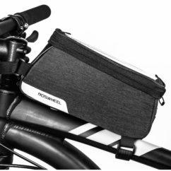 Фото сумка велосипед рама для телефона