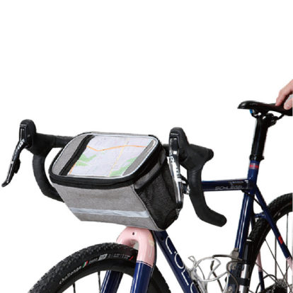Фото термо-сумка на руль велосипеда Sahoo