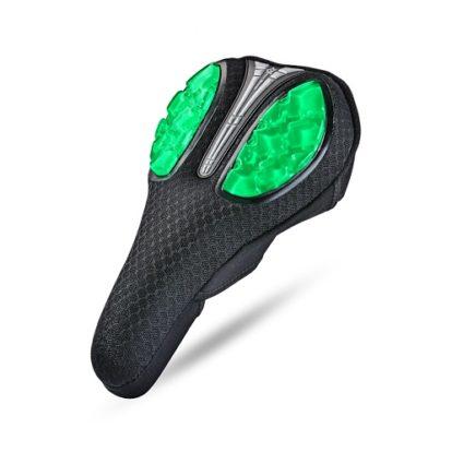 Фото чехол на седло велосипеда Rockbros, гель, зеленый