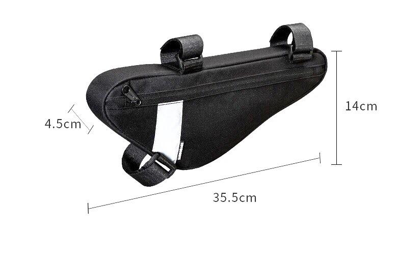 Фото сумка под раму Sahoo 1.5 литра черная