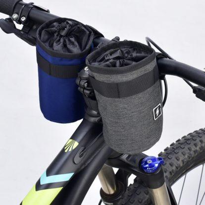 Фото сумка-держатель для фляги ну руль велосипеда Sahoo, серый