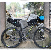 Фото сумка по седло велосипеда Roswheel серия Attack 10L, водонепроницаемая, черная