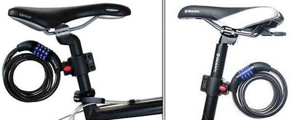 крепеж для замка велосипеда