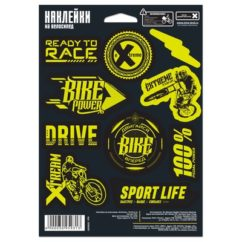 "Фото наклейки на раму велосипеда ""Extreme"""