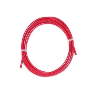 Оплётка (рубашка) велосипедного троса переключения, красная, 2 метра