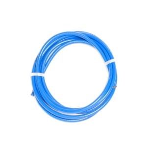Оплётка (рубашка) велосипедного троса тормоза, синяя, 2 метра