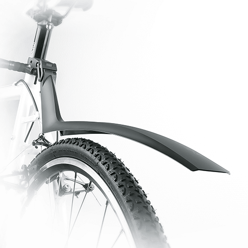 """Щиток задний для велосипеда SKS S-Blade FIXED 28"""", черный"""