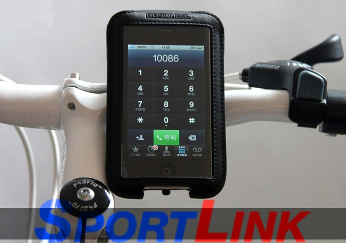 Держатель для телефона iPhone 4 на руль Roswheel