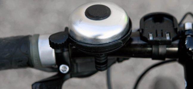Велозвонок HW серебристый