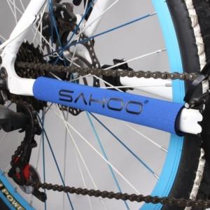 Защита подвески от цепи для велосипеда Sahoo синяя