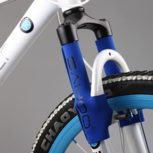 Защита передней вилки велосипеда Sahoo синяя