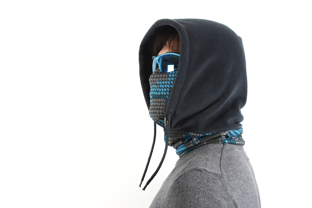 Балаклава с капюшоном Sahoo greem размер L