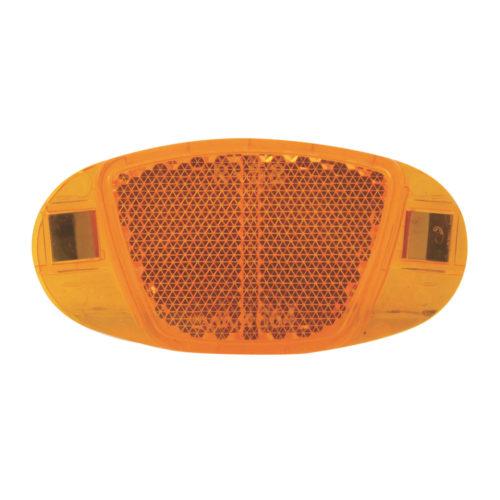 """Катафот на спицы велосипеда """"Медалька"""" оранжевый, 4 шт."""