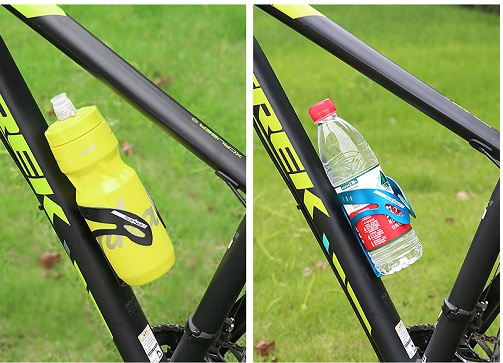 Флягодержатель велосипедный обхватный Sahoo металлический, черный+болты