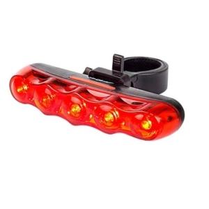 Задний фонарь для велосипеда Sahoo 5 диодов