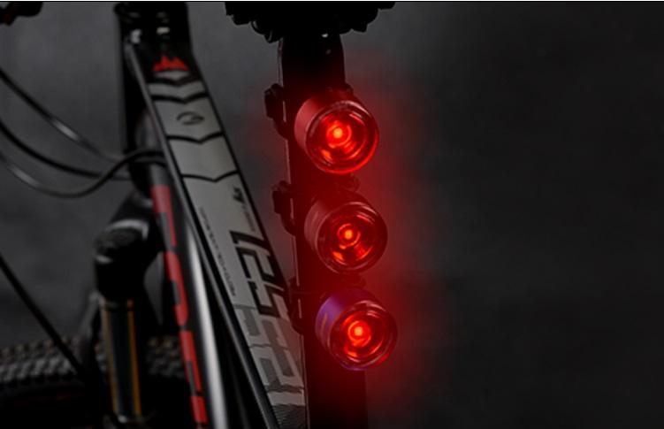 Задний габарит для велосипеда Sahoo цвет черный