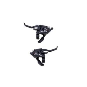 Комплект шифтеров для велосипеда (перед+зад), 3х7 скорости