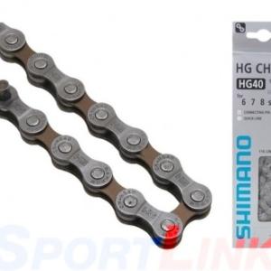 Цепь для велосипеда Shimano HG40 6-7-8 скоростей