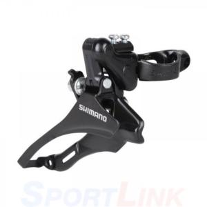 Переключатель передний для велосипеда Shimano TZ30, верхняя тяга, 42T