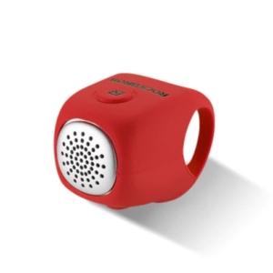 Велозвонок электронный Rockbros силиконовый,90дБ красный