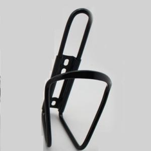 Флягодержатель велосипедный на раму алюминиевый черный