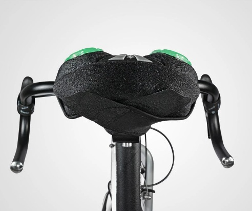 Накладка на седло велосипеда Rockbros, гель, красный