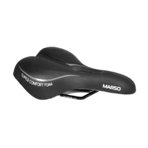 Седло для велосипеда Vinca Sport Marso, черное