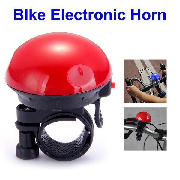 Велозвонок электронный UFO красный