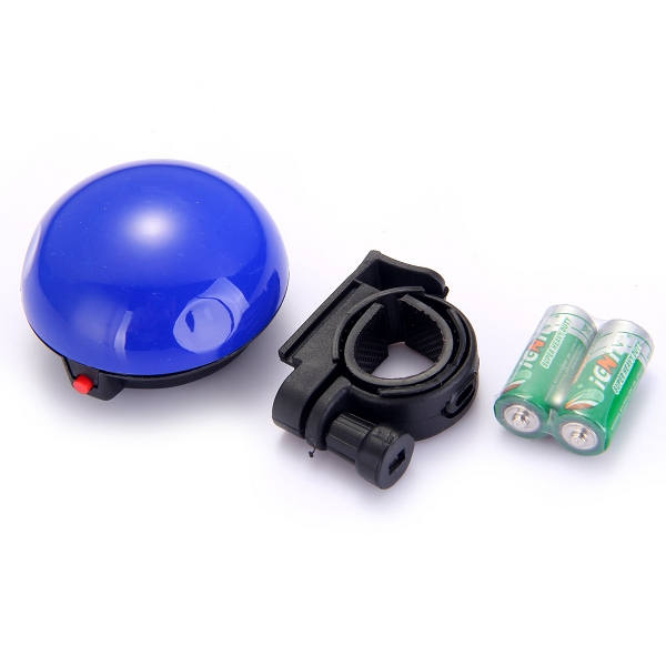 Велозвонок электронный UFO синий