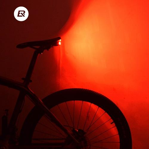Задний велофонарь с сигнализацией и пультом управления, Rockbros