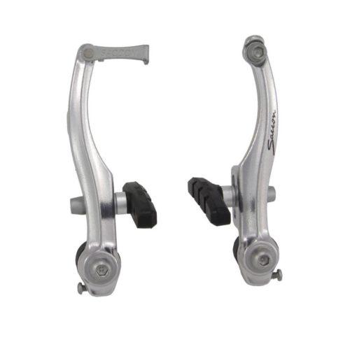 Комплект тормозов для велосипеда SACCON V-Brake серебристый