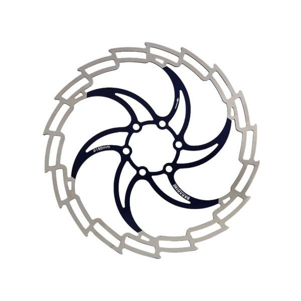 Тормозной диск для велосипеда Baradine D160mm черный
