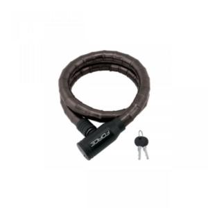 Велозамок цепной на ключ Force черный 18-800 мм