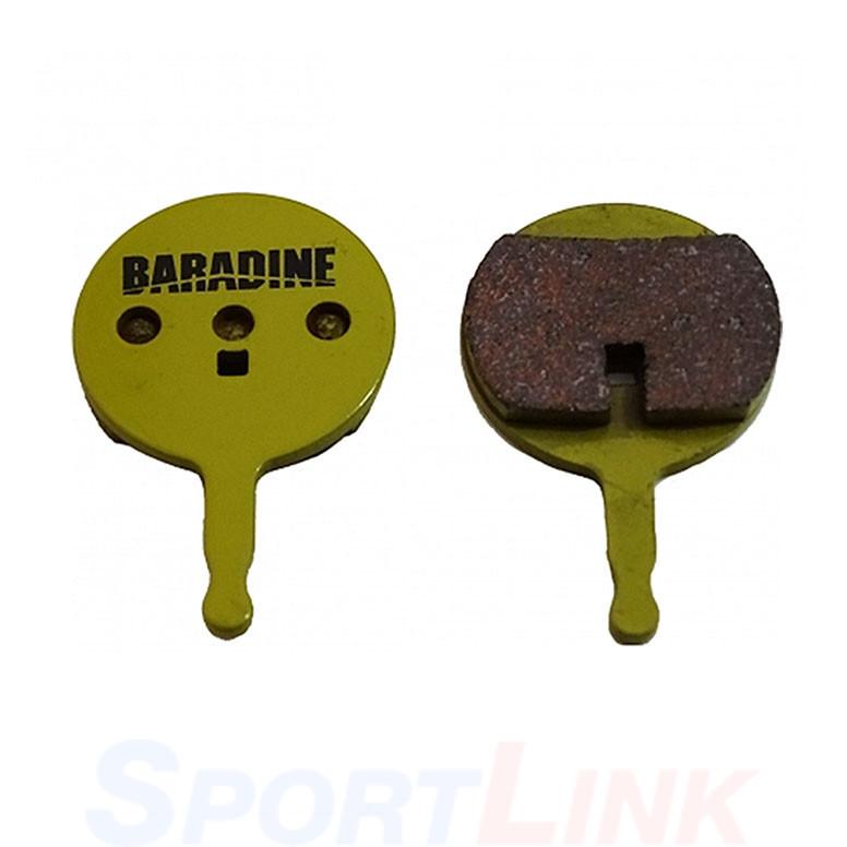 Колодки для дисковых тормозов велосипеда Baradine DS-38 sintered